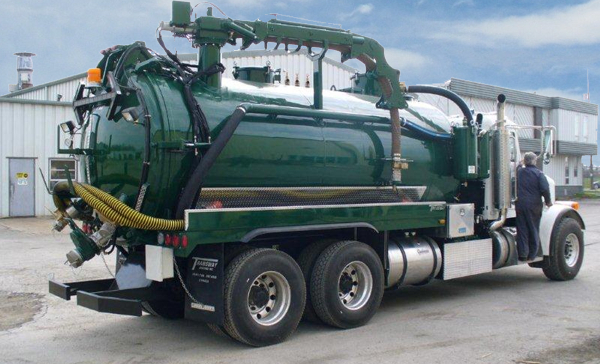 Blower Pumps For Trucks : Pumping services jetter truck vacuum septic tank